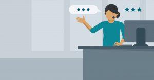 Customer Service Representative illustration