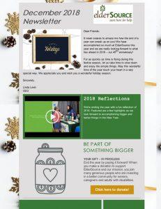 Dec 2018 Newsletter
